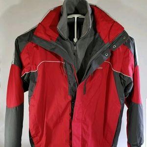 Columbia Men's Interchange 2 Jackets in One Coat